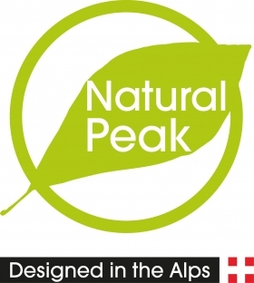 logo Natural Peak Officiel vert vectorise